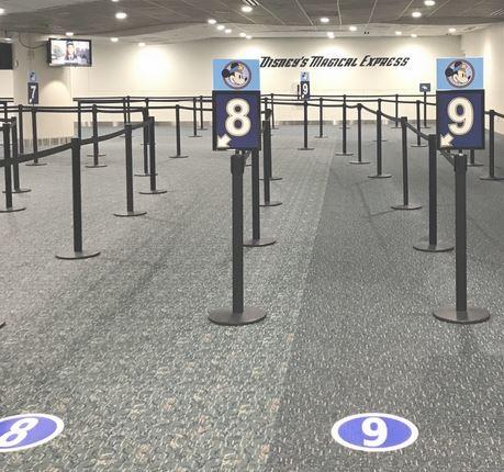 Disney Magical Express queues