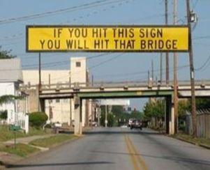 hit the bridge